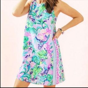 New 🎀 Lilly Pulitzer Jackie silk floral shift